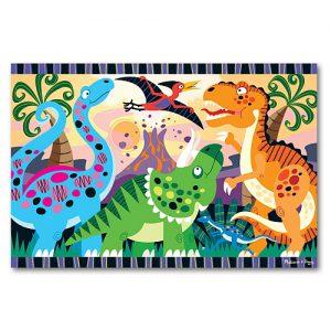 Melissa&Doug - Puzzle de podea Inceputurile dinozaurilor-0