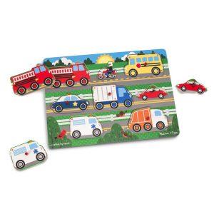 Puzzle din lemn Vehicule cunoscute-2717