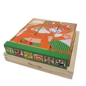 Primele mele cuburi puzzle cu animale-2746