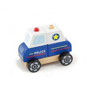 Masina de politie - joc de stivuire-0