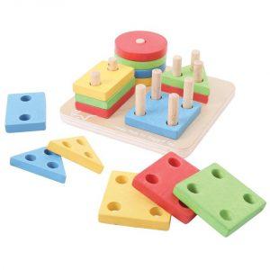 Joc de sortare - 4 forme geometrice -0