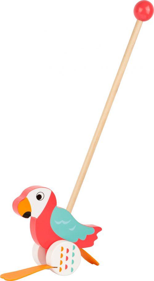 Jucarie de impins - Papagalul Lori-0