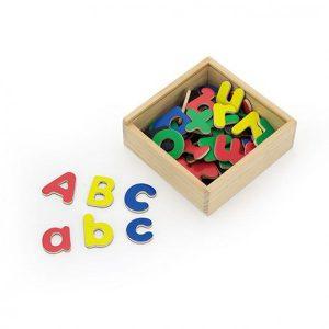 Set magnetic cu litere mari si mici - 52 piese-2903