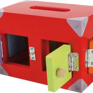 Caseta din lemn cu incuietori-0
