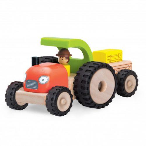 Tractor din lemn-0