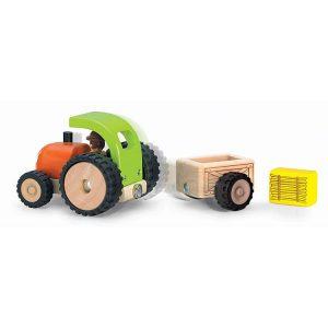 Tractor din lemn-3038