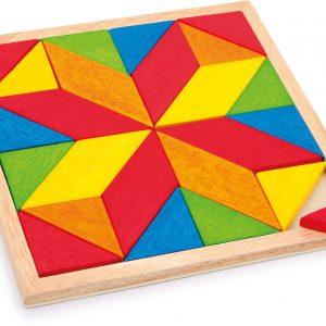 Set mozaic din lemn-0