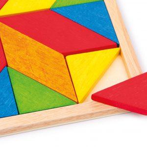 Set mozaic din lemn-3081