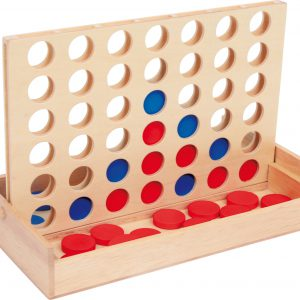 Joc 4 piese pe un Rand - joc de logica-0