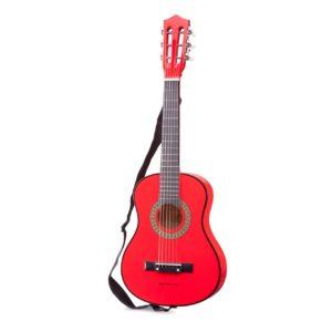 Chitara  pentru copii rosie