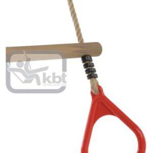 Trapez din lemn cu inele din plastic PP10