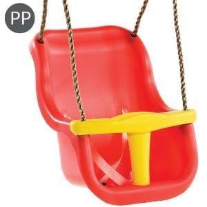 Leagan Baby Seat LUXE Culoare: Rosu/Galben