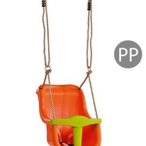 Leagan Baby Seat LUXE Culoare: Orange/Lime Green
